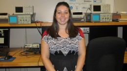 Jessica Anthony, mechatronics student