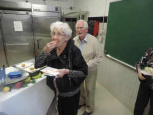 Atlantic Shores residents enjoying the meal