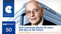 ECPI 50th Anniversary Alfred Dreyfus Founder