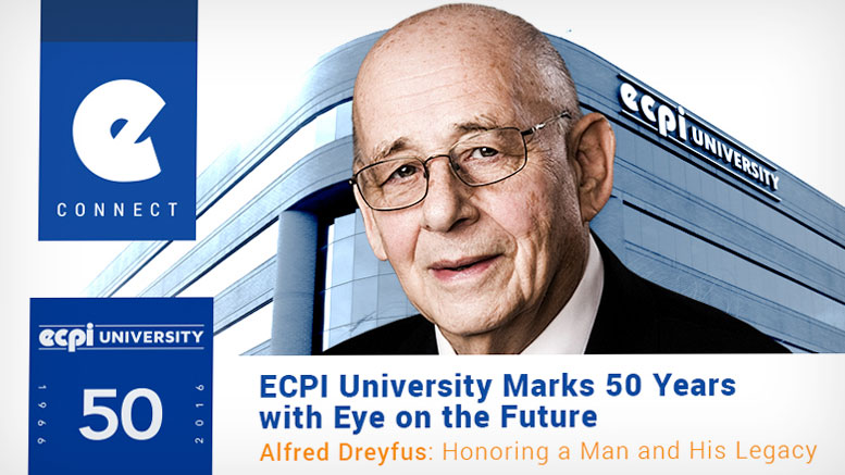 ECPI 50th Anniversary Alfred Dreyfus Founder