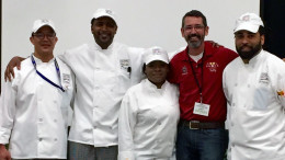 Tuffy Stone visits ECPI University's Culinary School Competition
