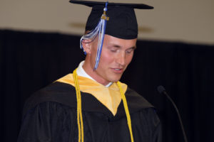 Greenville Campus Student Speaker, Advises Graduates to Use Failure as Fuel