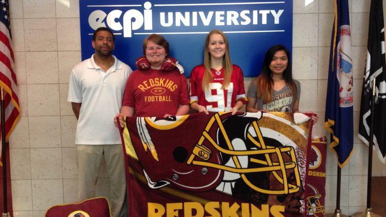 Massage Therapy Students Return to Serve Washington Redskins