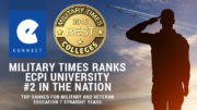 "Military Times ""Best of"" 2018 Ranks ECPI University #2 in the Nation"