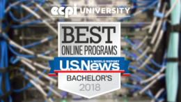 U.S. News & World Report Ranks ECPI University Online Bachelor's Programs Top 10 Percent