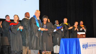 Columbia Campus Presents Alfred Dreyfus Perseverance Award
