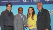 SC Cyber Gives ECPI University Award for Excellence in Academia
