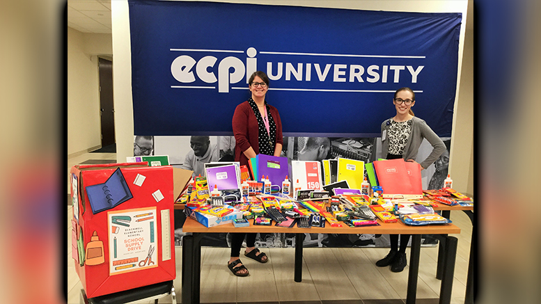 ECPI University Reaches Out to Lend a Helping Hand in the Community
