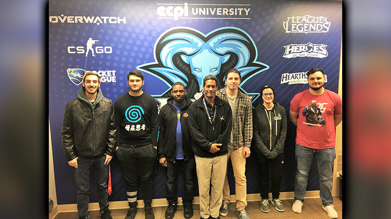 eSports Team, ECPI University Rams, Expands to Newport News Campus