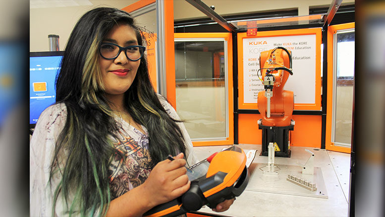 Dreams Became Reality for Greenville Mechatronics Graduate