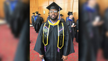 Online Student Travels 3,000 Miles to Attend Graduation
